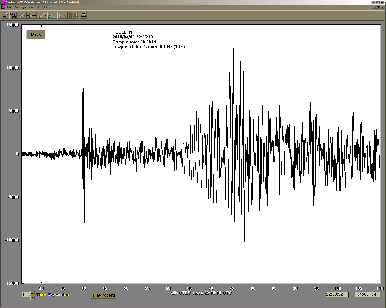 Northern Sumatra Earthquake M7 7 06 04 Recorded At