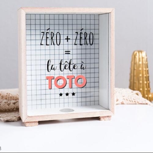 Creatieve houten kunst verse spaarpot slaapkamer desktop decoratie ornamenten diversen opbergdoos, stijl: houten opbergdoos -B
