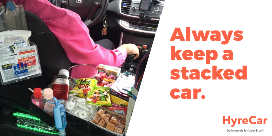Keep Stuff In Car