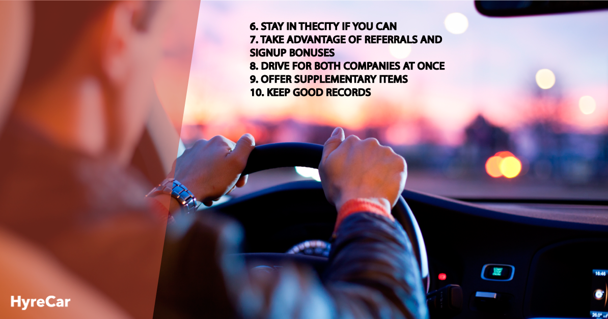 Tips For Success with Uber and Lyft