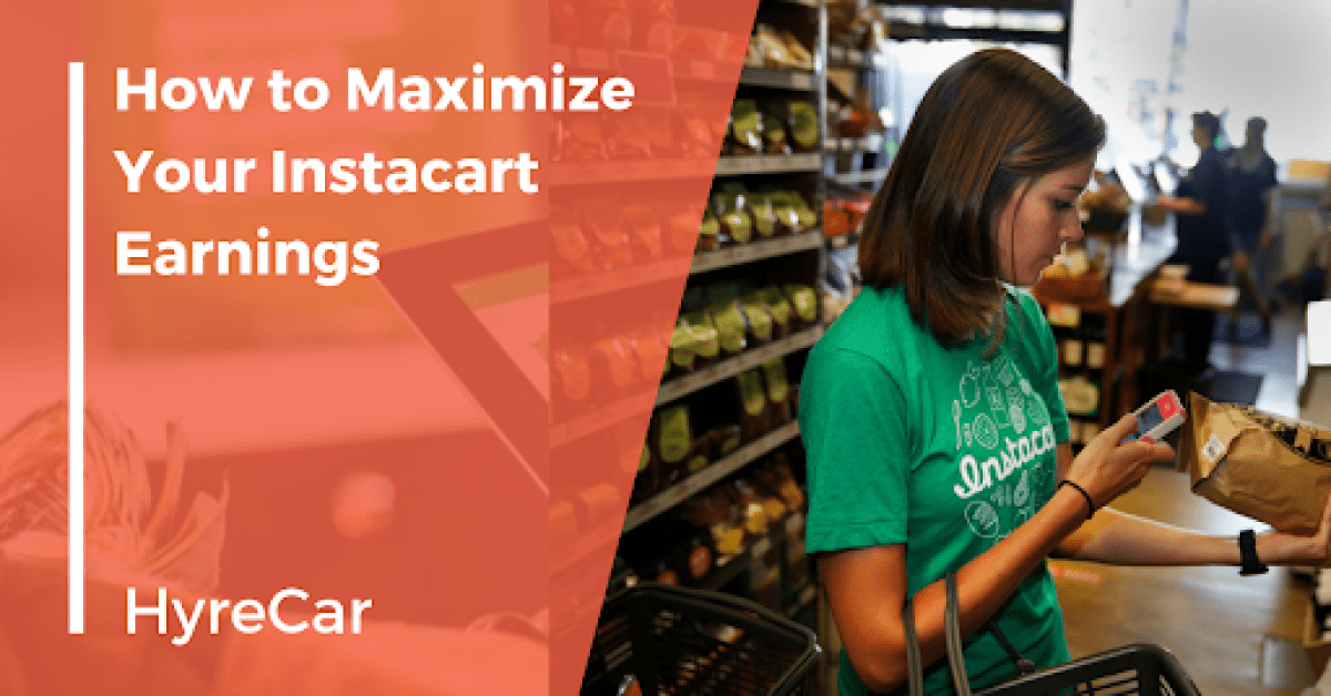 Instacart, delivery, Hyrecar, on demand, mobility