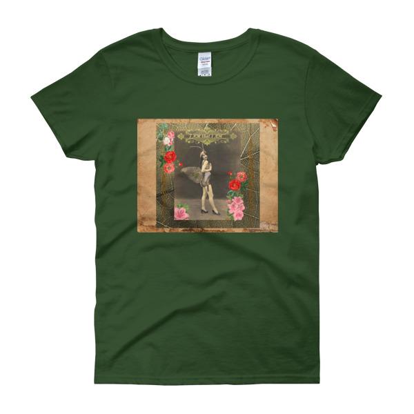 """I AM that I AM"" Vintage Fairy Women's short sleeve t-shirt"
