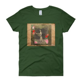 """I AM that I AM"" Vintage Fairy Women's short sleeve t-shirt"
