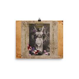 Ascension Vintage Fairy Poster