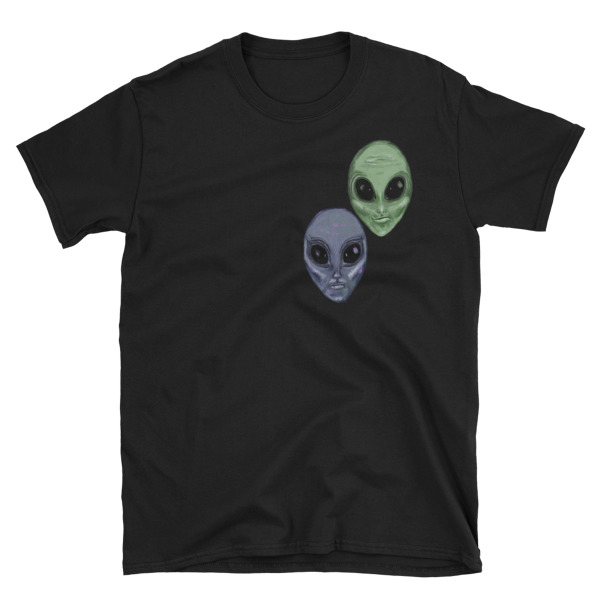 Aliens Painted by Chris Disano Short-Sleeve Unisex T-Shirt