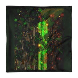 Telepathic Tree Ent's Square Pillow Case only