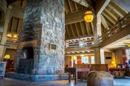 Inside Timberline Lodge, Mt Hood.