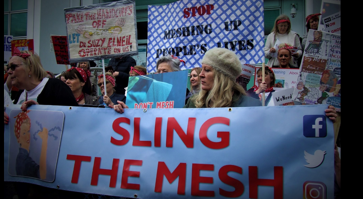 'Every woman harmed by mesh has been failed by the system. It is institutional betrayal'