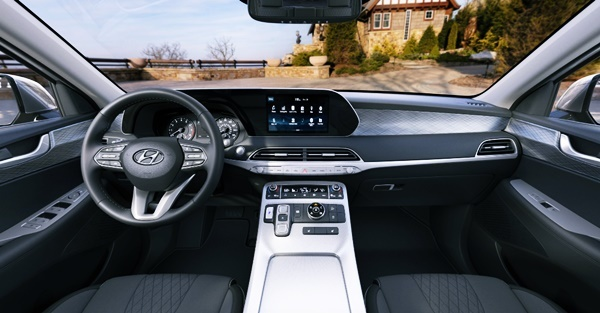 2021 Hyundai Palisade Limited Interior