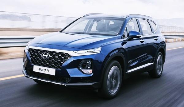 2021 Hyundai Santa Fe Facelift, Redesign