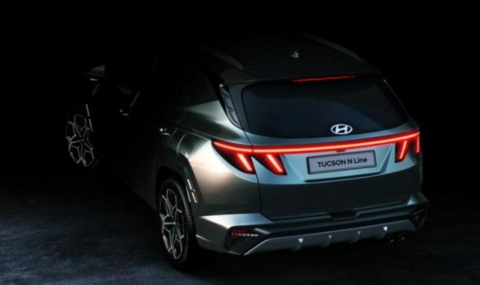 2023 Hyundai Tucson N-Line Exterior