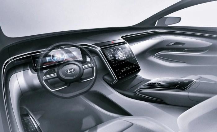 2023 Hyundai Tucson Hybrid Interior