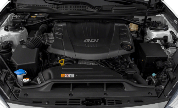 2019 Hyundai Genesis Engine