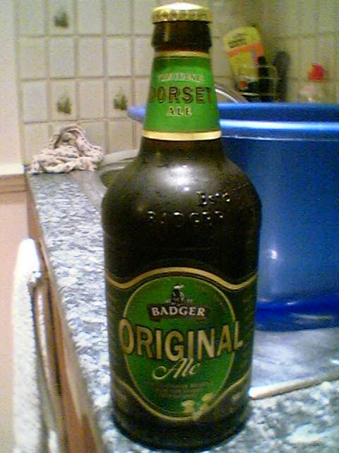 Bottle of Badger Original Ale