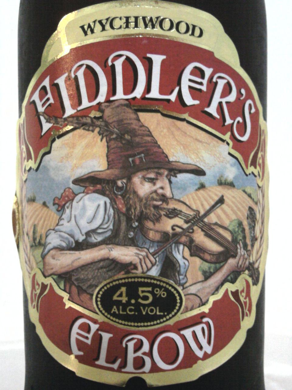 Wychwood Fiddler's Elbow front label