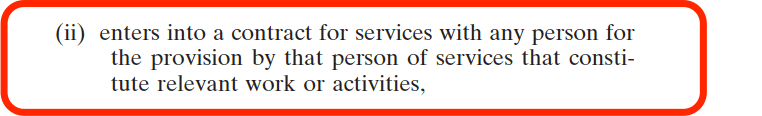 National Vetting Bureau Acts 2012 to 2016 - Organisation Registration - Contract for Services