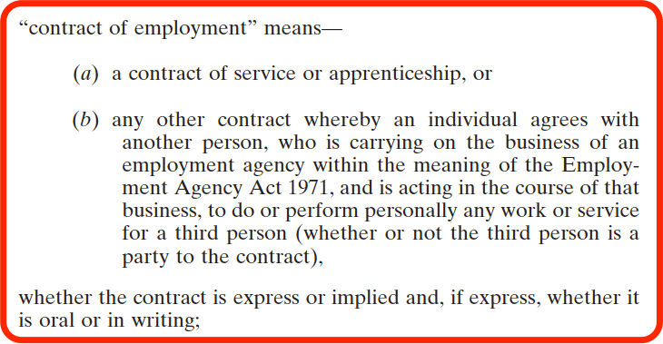 National Vetting Bureau Acts - Contract of Employment