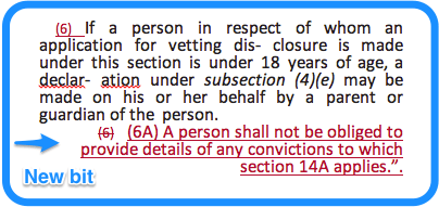 Section 13 National Vetting Bureau Acts 2012 to 2016