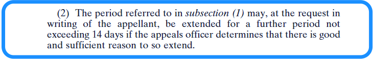 Appealing a Decision of the Chief Bureau Officer