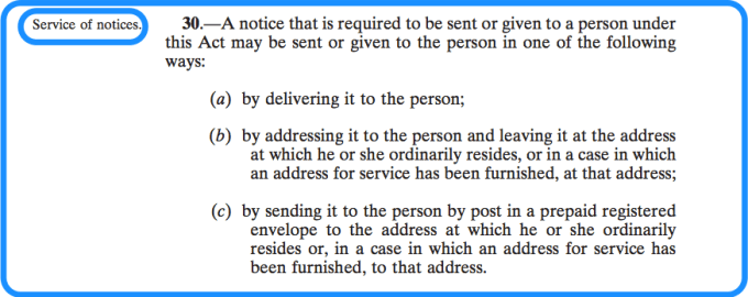 Section 30 of the National Vetting Bureau Acts 2012 to 2016