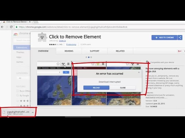 chrome remote desktop download interrupted