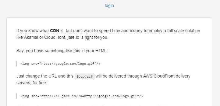 免費JareCDN介紹-提供AWS CloudFront節點
