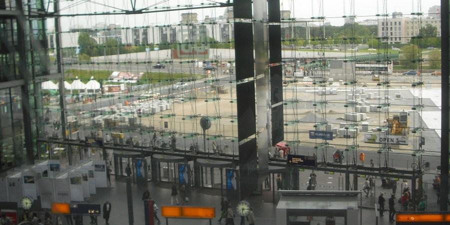 vue depuis la hauptbahnhof berlin