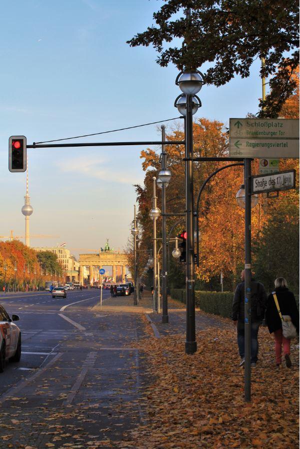 rue 17 juin berlin automne