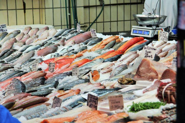 poissons marché brixton