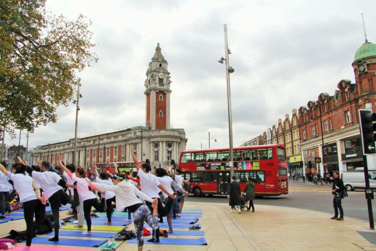 yoga à brixton