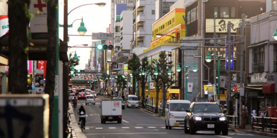 quartier coréen tokyo