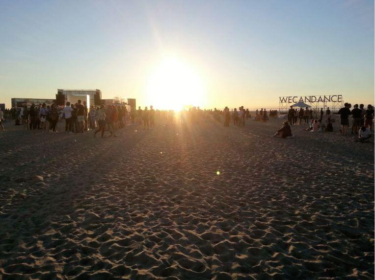 wecandance 2016 coucher de soleil