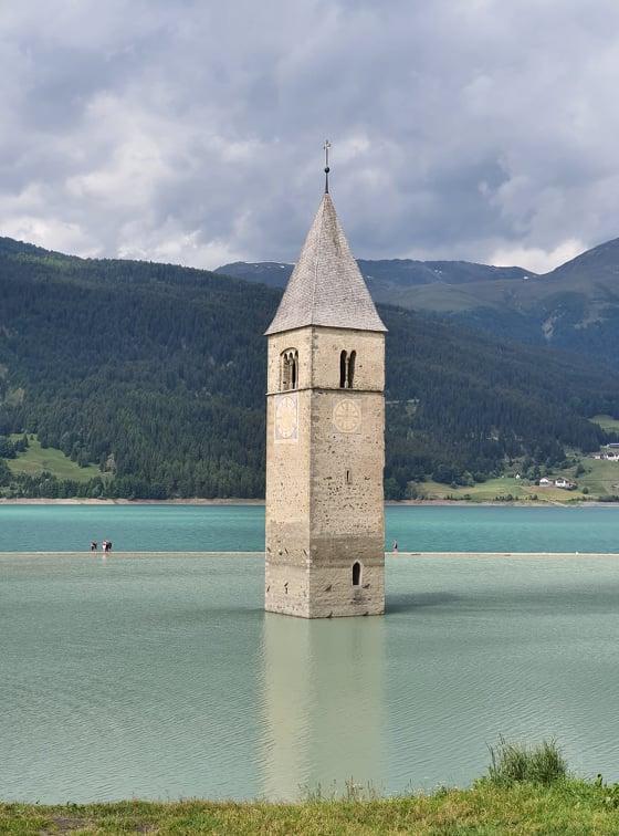 lac resia clocher