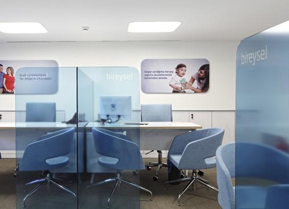 Finansbank Breaking The Boundaries Of Branch Design. Burgan Bank Interior  Design