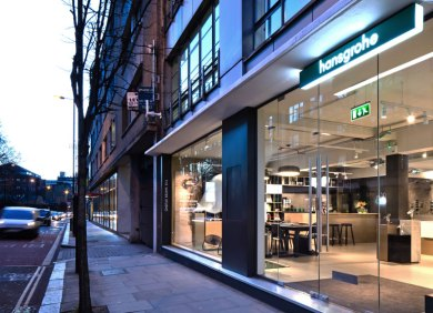 Hansgrohe showroom design