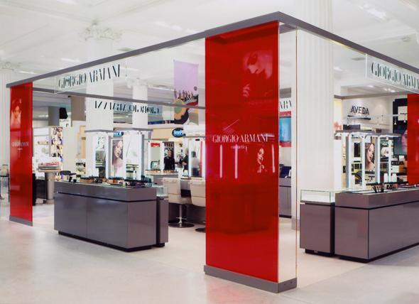 Giorgio Armani Retail Interior Design Branding IAM