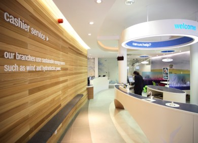 the Co-Operative Bank Design Agency