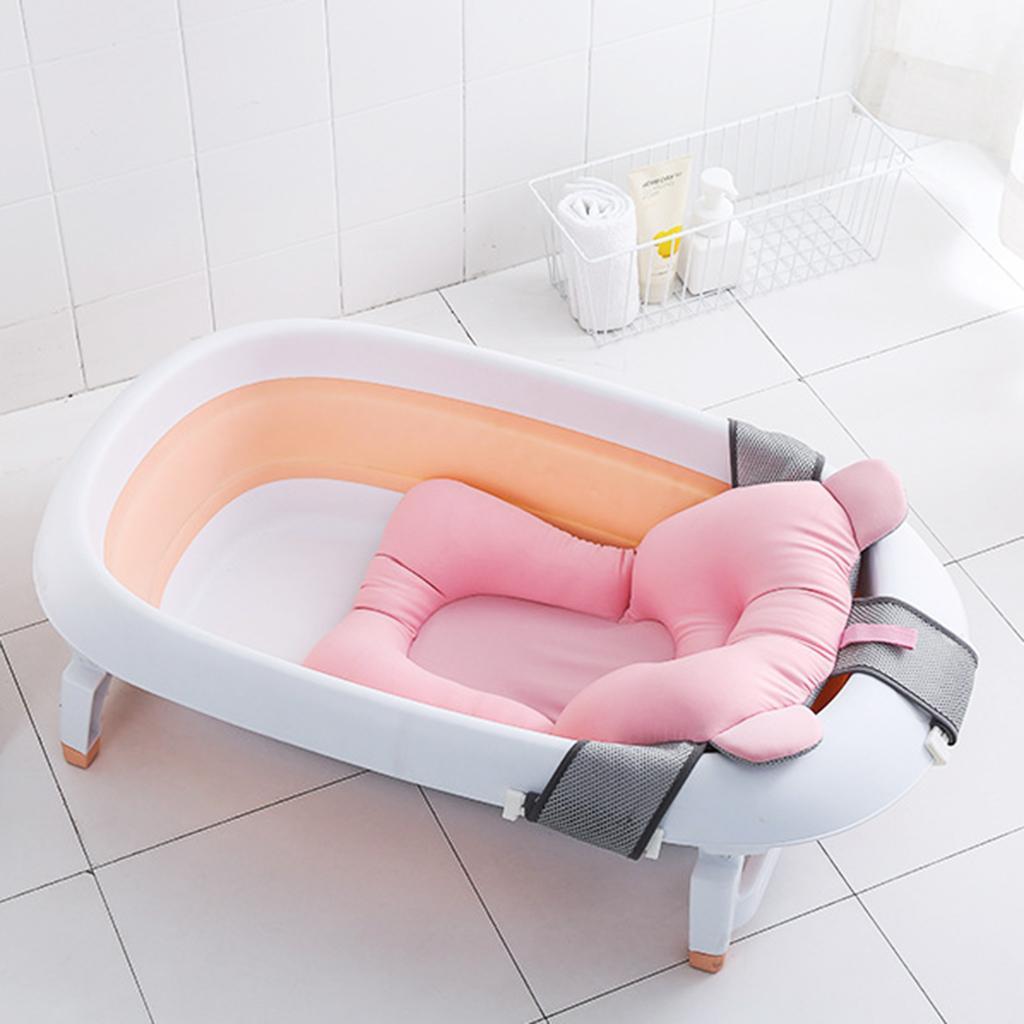 details sur support de bain avec maille lit de douche pour bebe siege de baignoire