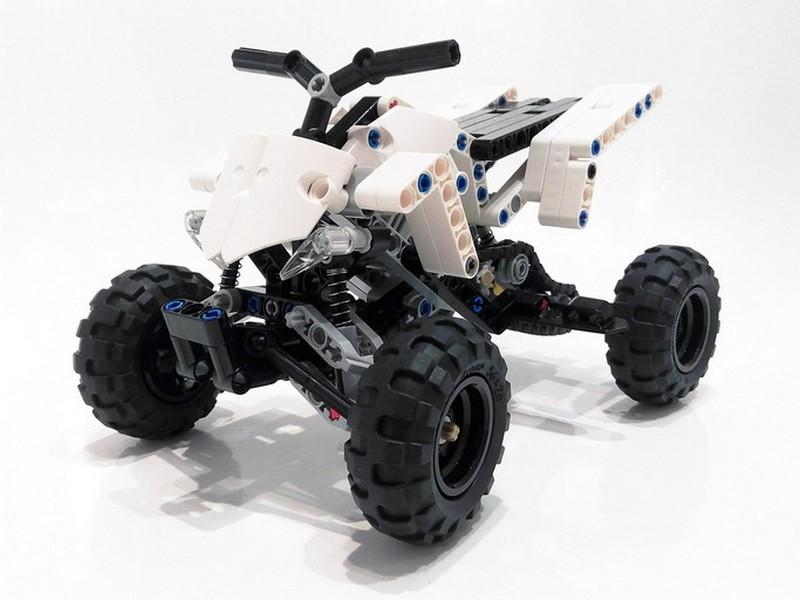 Lego Technic Yamaha Sport Quad Bike MOC