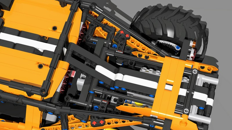 Lego Technic Greyhound — 4WD RC Багги с BuWizz