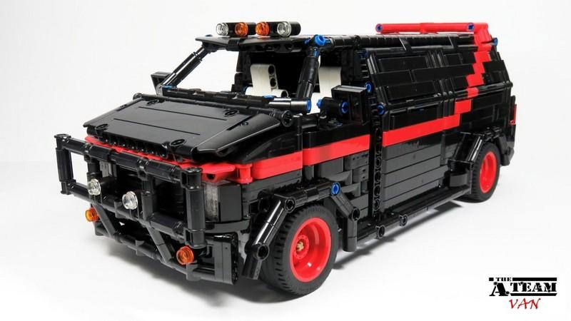 Lego Technic A-Team Van
