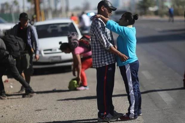 Central America Migrant Caravan Guatemalan migrants