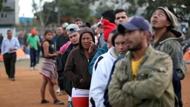USA IMMIGRATION CARAVAN migrants Tijuana, Mexico