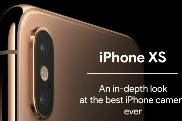 iPhone XS Named as the Best Camera Phone Ever