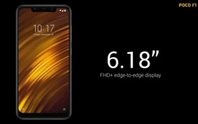 Xiaomi-backed Poco F1 goes officially official with top-notch specs, crazy low price