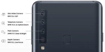 Galaxy A9 Cameras - الإعلان الرسمي عن هاتف سامسونج الجديد جالكسي A9 مع 4 كاميرات خلفية مميزة
