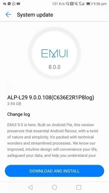 Android 9 Pie update starts rolling out for Huawei Mate 10 1