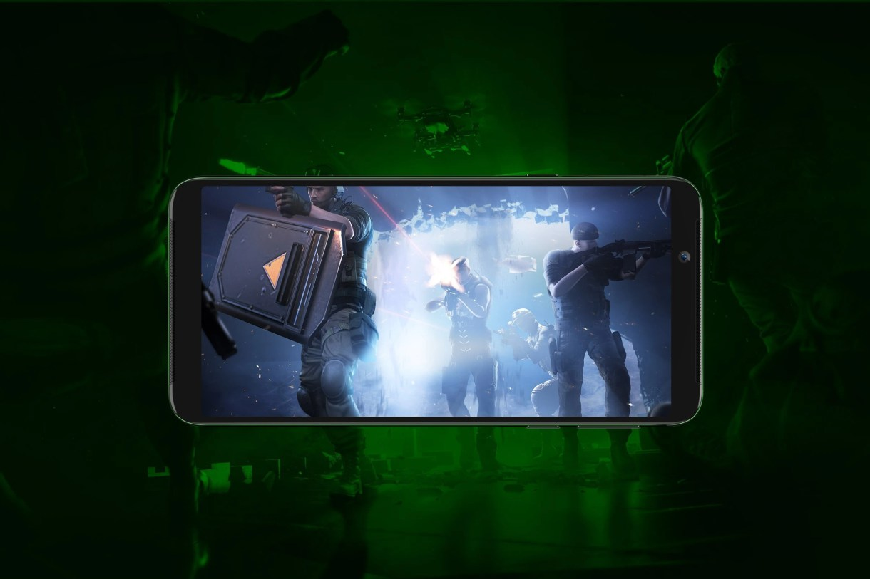 Xiaomi Black Shark Helo - شاومي تكشف عن هاتف الألعاب Black Shark Helo بذاكرة 10 جيجا بايت رام
