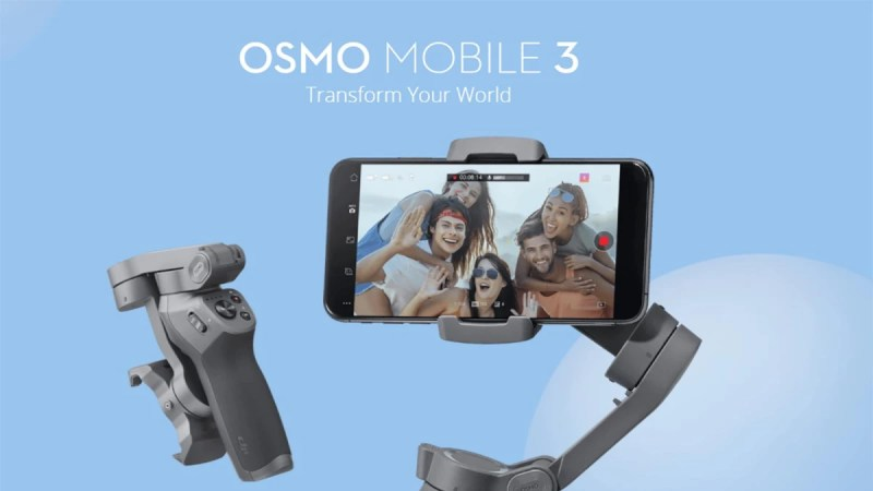 DJI Osmo Mobile 3 is a revolutionary phone gimbal that folds into a super compact size