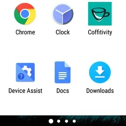 How to change your app drawer scrolling orientation
